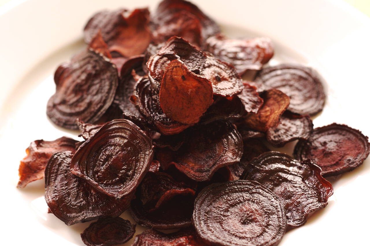 Beet Chips Recipe - MakeBetterFood.com