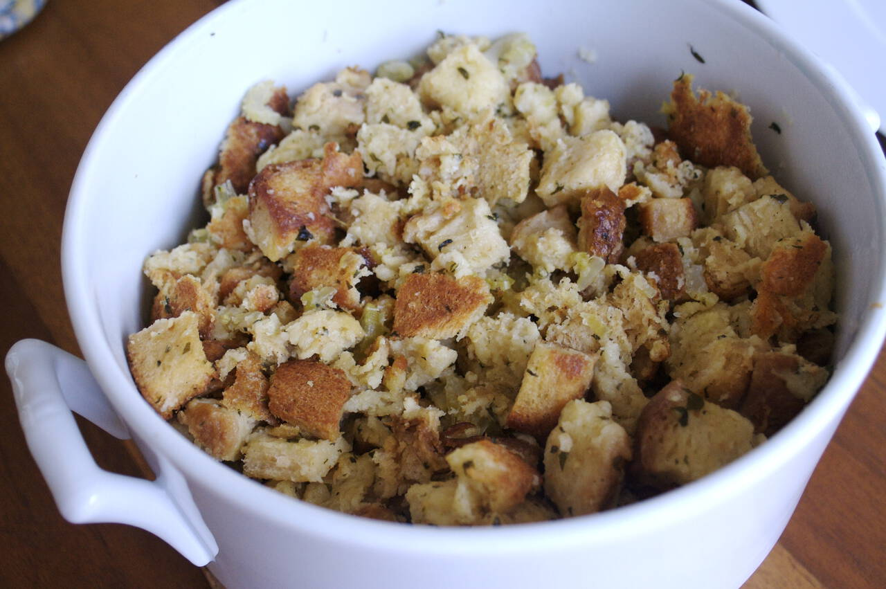 Better Bread Stuffing Recipe - MakeBetterFood.com