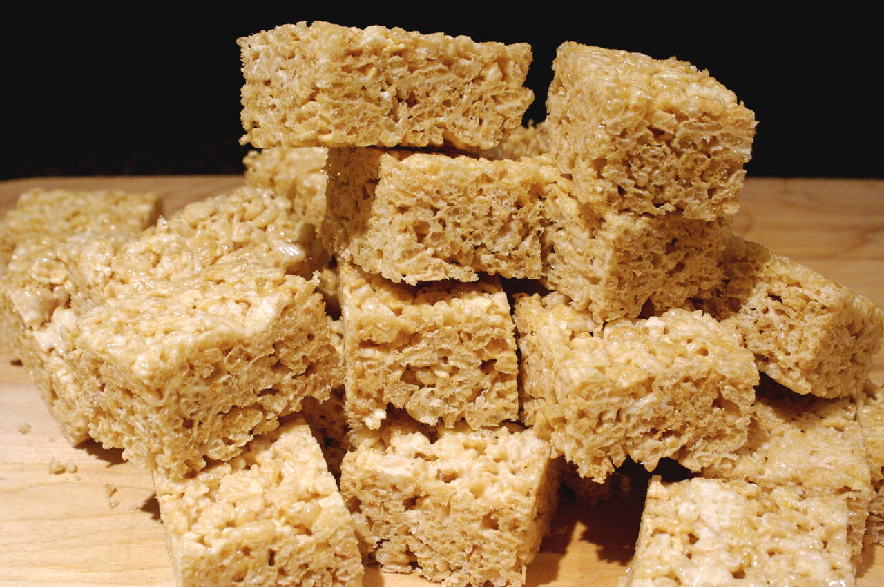 Brown Butter Rice Crisp Treats