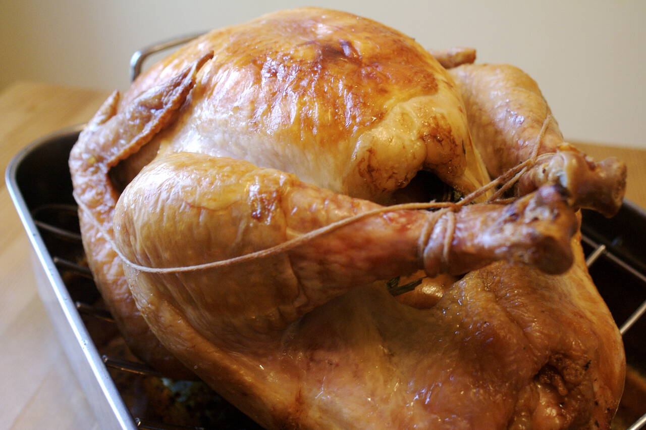 Dry Brined Roasted Turkey - MakeBetterFood.com