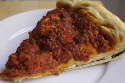 Giordano's Deep Dish Stuffed Spinach Pizza Recipe ...  Giordano's ...