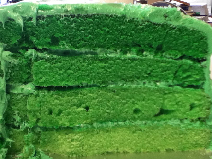 Green Birthday Cake Recipe Makebetterfood