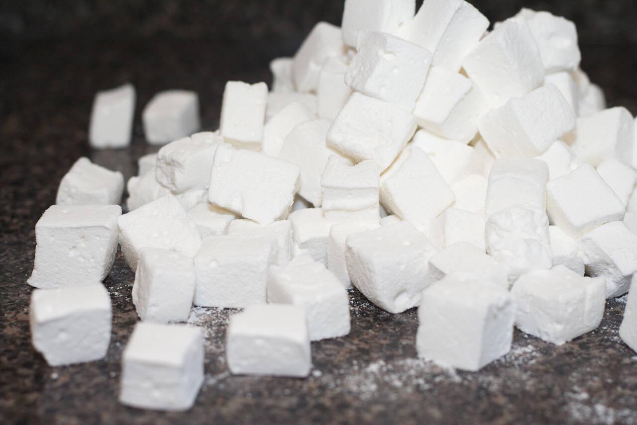 Homemade Vanilla Bean Agave Marshmallows Recipe — Dishmaps