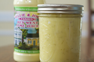 Homemade Key Lime Curd