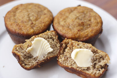Low Carb Almond Breakfast Muffins