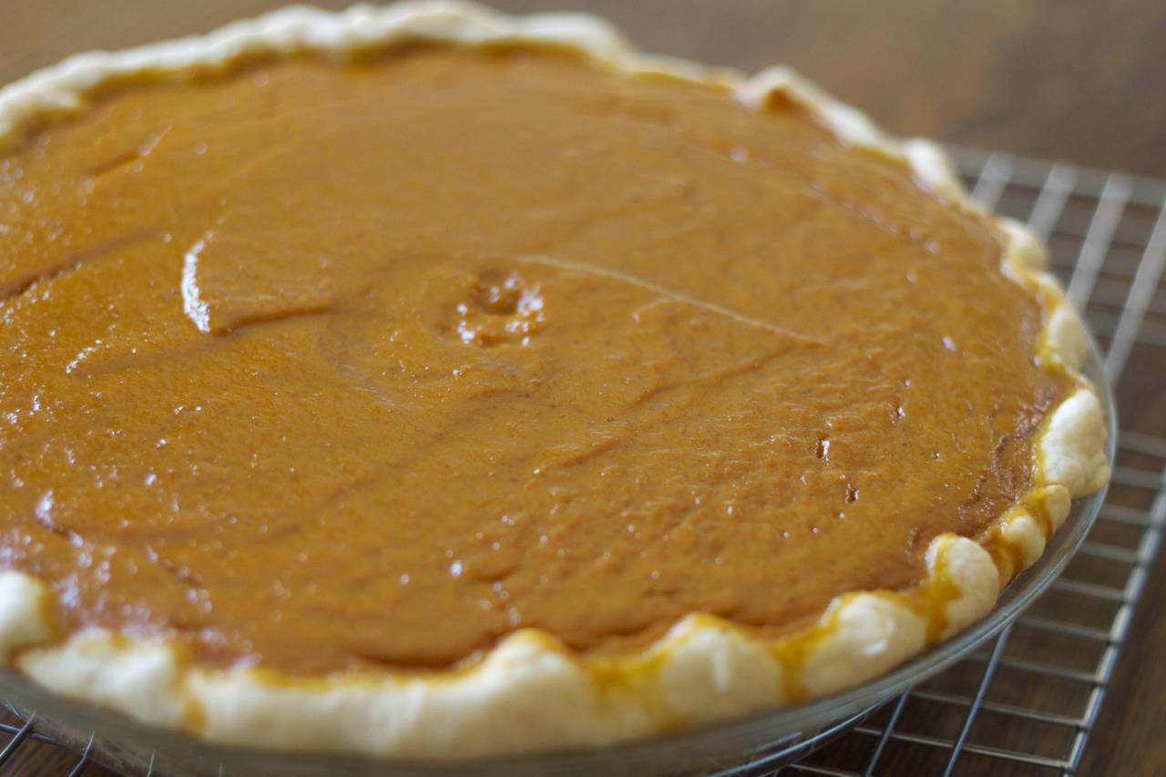 Pecan Gingersnap Pumpkin Pie Recipe - MakeBetterFood.com