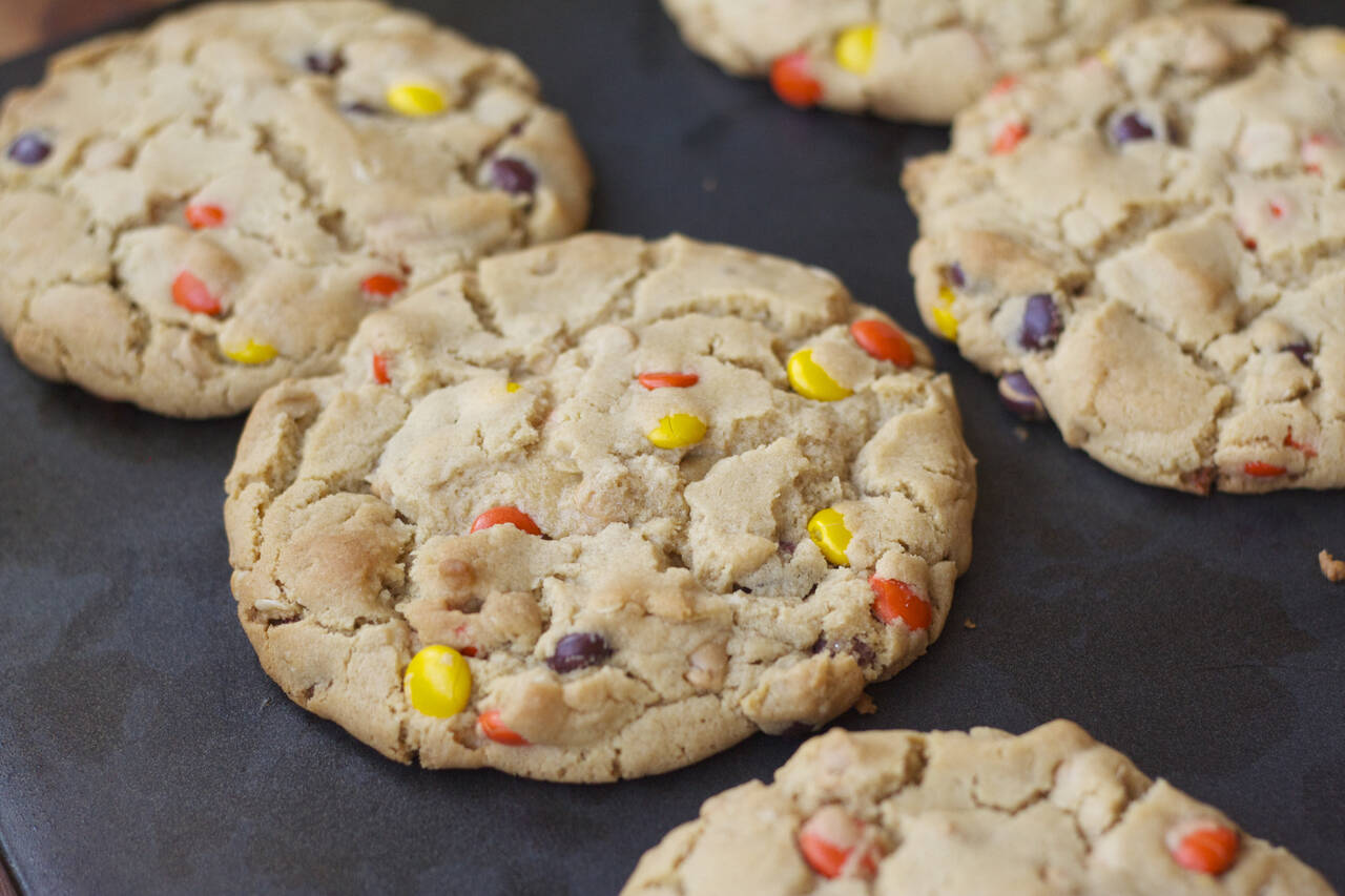 Reese's Peanut Butter Monster Cookies