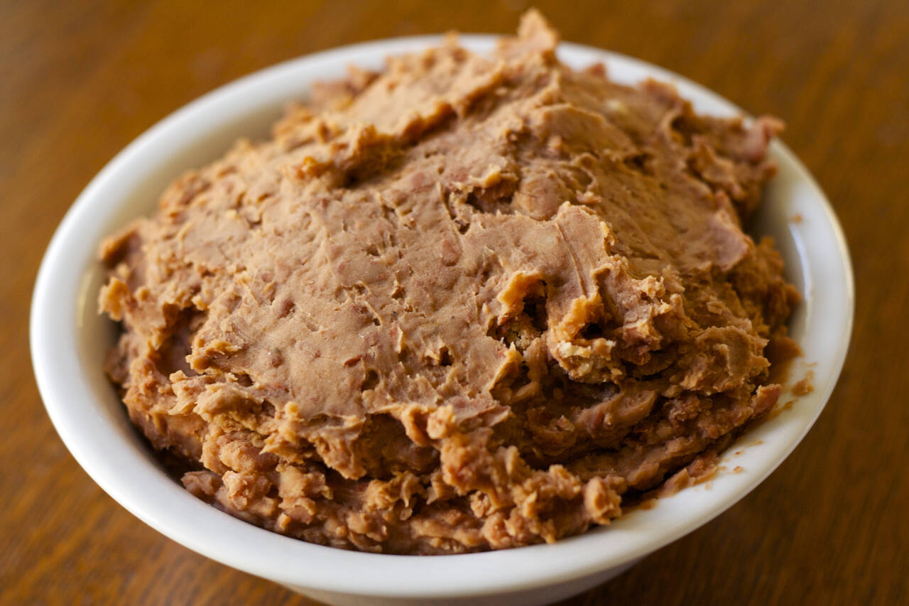 Refried Beans Recipe - MakeBetterFood.com