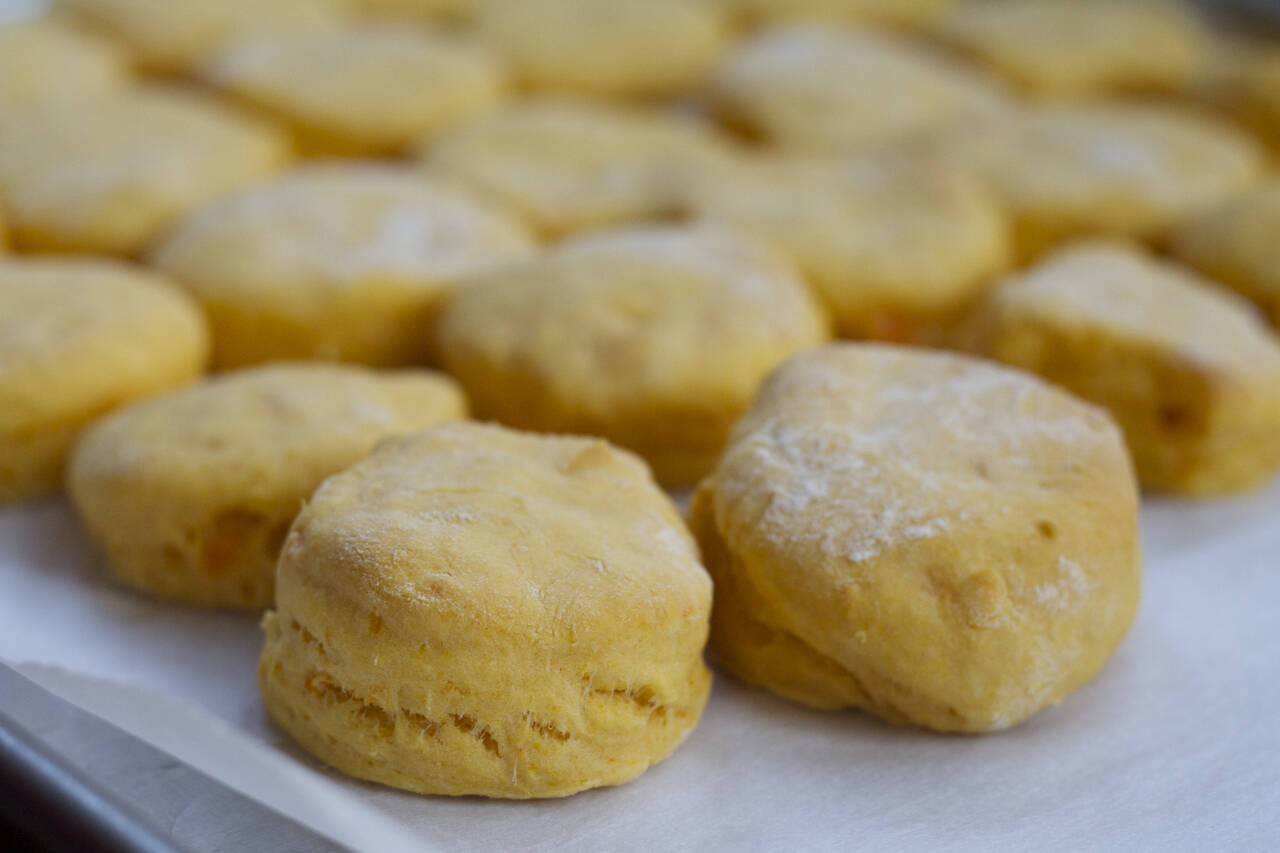 Sweet Potato Biscuits Recipe - MakeBetterFood.com