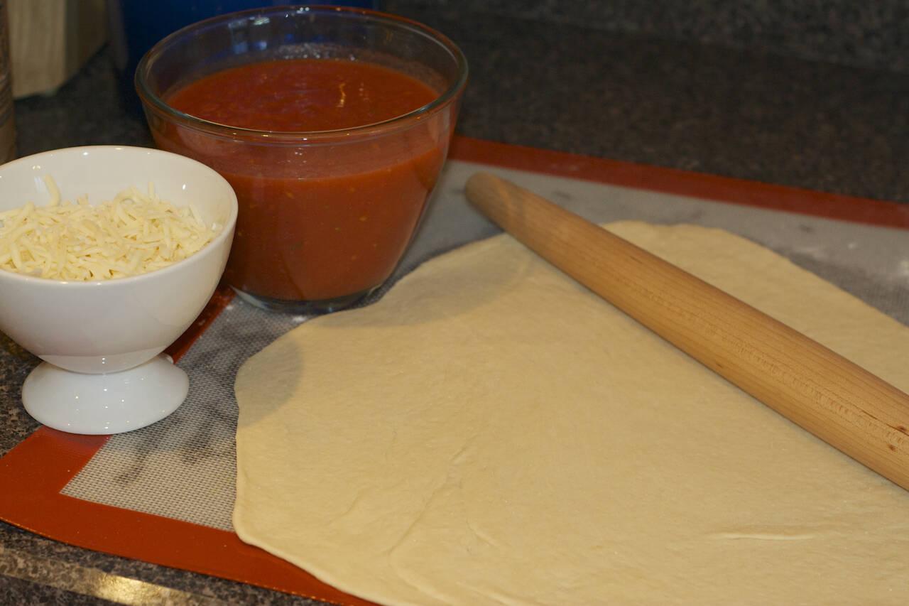 Thin Crust Pizza Dough Recipe - MakeBetterFood.com