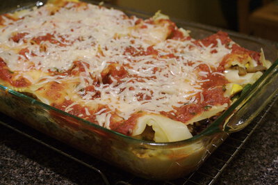 Better Vegetable Lasagna
